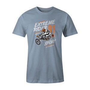 Extreme Rider T Shirt Baby Blue 1