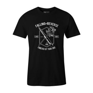 Falling In Reverse T Shirt Black