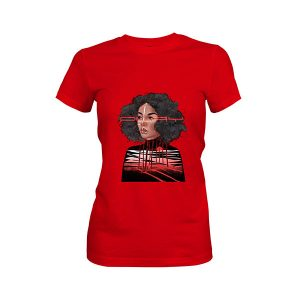 Feelings T shirt red