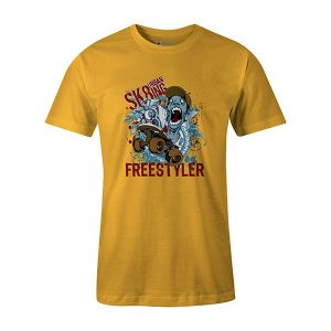 Freestyler T shirt sunshine
