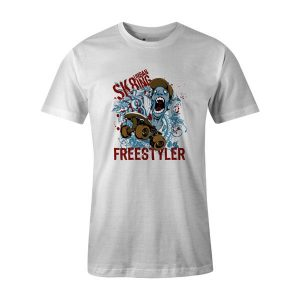Freestyler T shirt white