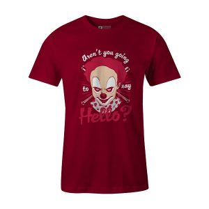 Friendly Clown T Shirt Cardinal