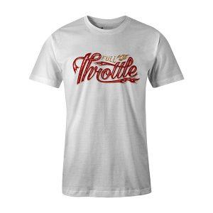 Full Throttle T shirt white