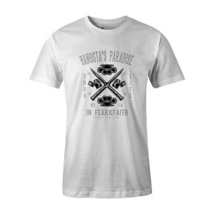 Gangstas Paradise T Shirt White