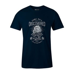 Getting Lost T shirt navy