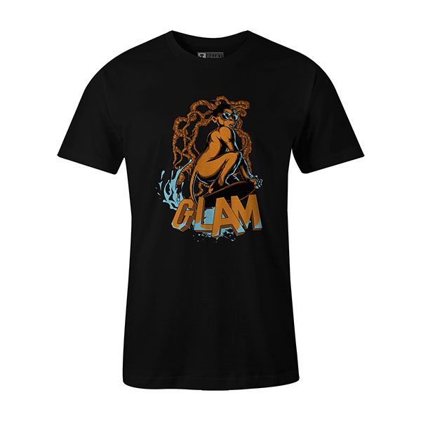 Glamour Monkey T shirt black