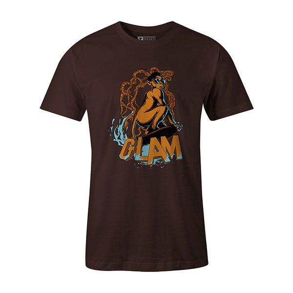 Glamour Monkey T shirt brown