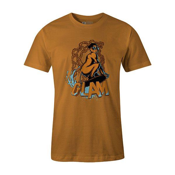 Glamour Monkey T shirt ginger