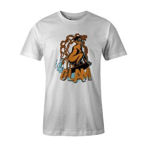 Glamour Monkey T shirt white