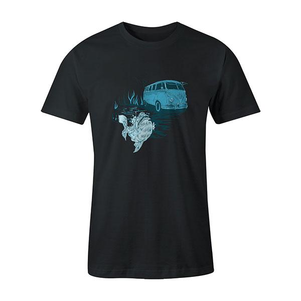 Go Fishing T shirt coal