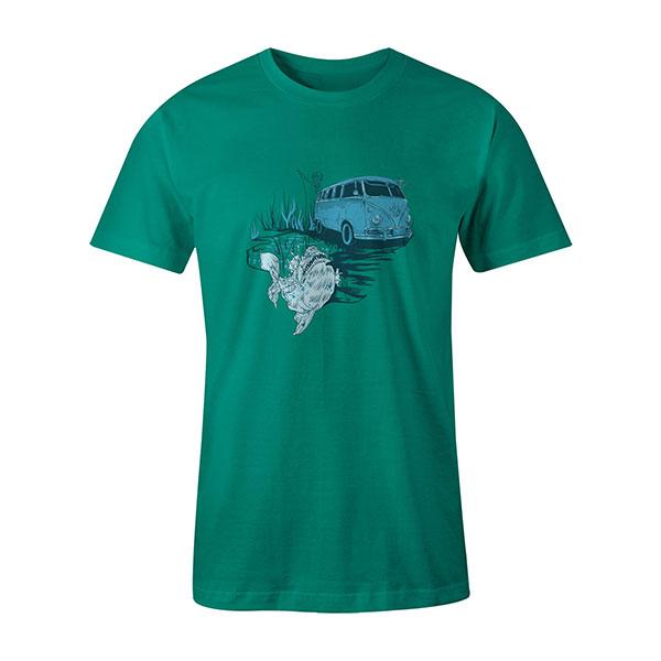 Go Fishing T shirt mint