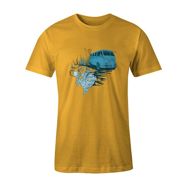 Go Fishing T shirt sunshine