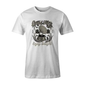 Good Vibe Only T Shirt White