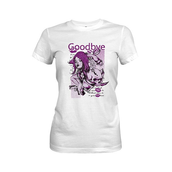 Goodbye T Shirt white