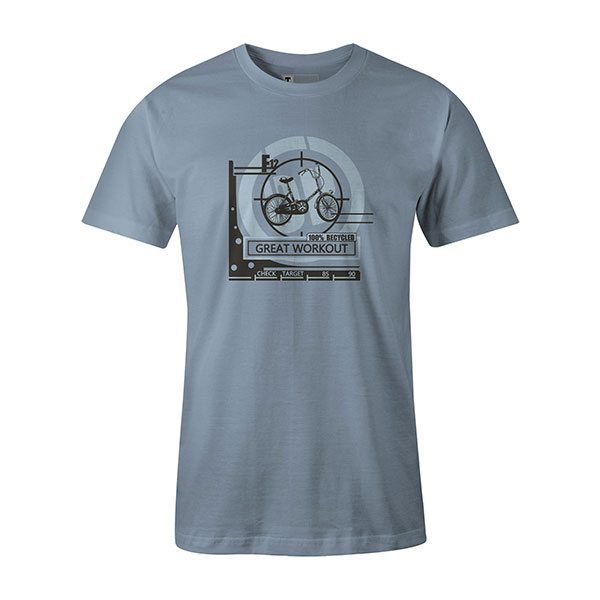 Great Workout T shirt baby blue