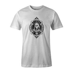Grim Reaper T shirt white