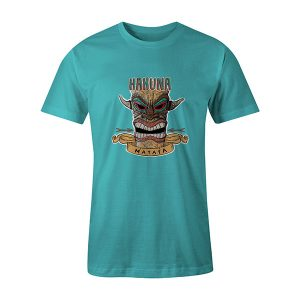Hakuna Matata T shirt aqua