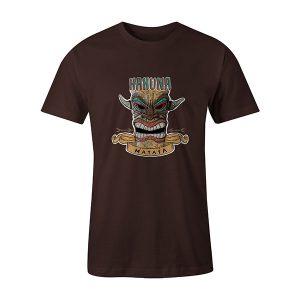Hakuna Matata T shirt brown
