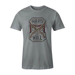Hard To Kill T shirt silver