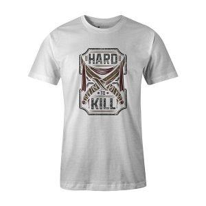 Hard To Kill T shirt white