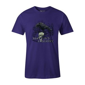 Heavens Basement T shirt purple