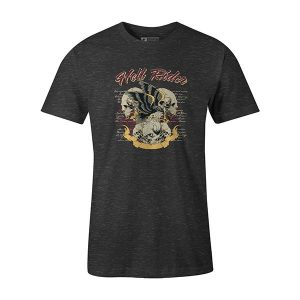 Hell Rider T shirt heather charcoal