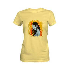 Hell T shirt banana cream