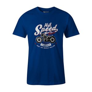High Speed Thrills T shirt royal