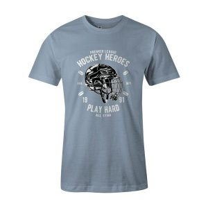 Hockey Heroes T Shirt Baby Blue