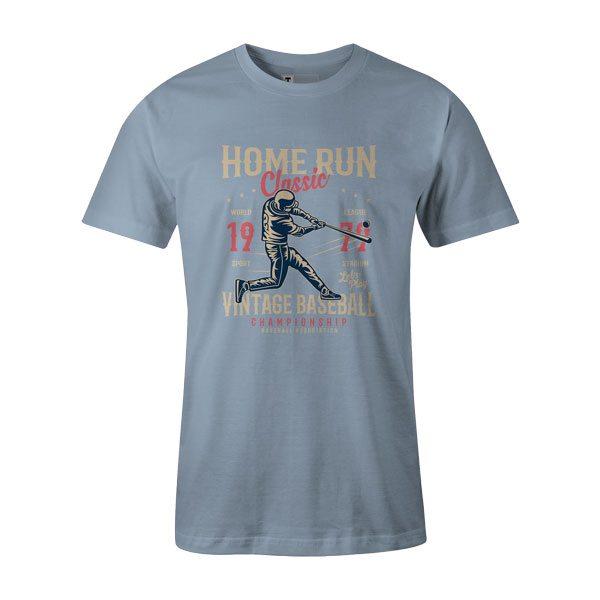 Home Run Classic T Shirt Baby Blue1