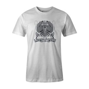 Honor and Loyalty T shirt white