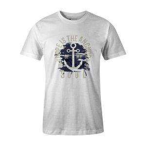 Hope Is The Anchor T Shirt White