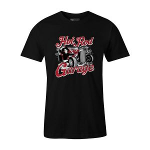 Hot Rod Garage II T Shirt Black