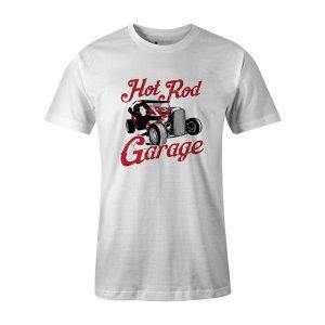 Hot Rod Garage II T Shirt White