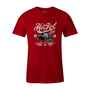 Hot Rod Racer T shirt red