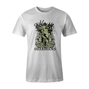 House of Guardians T shirt white