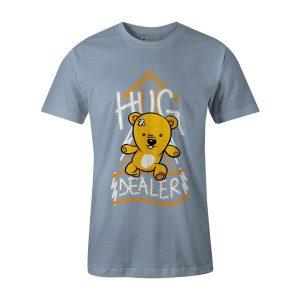 Hug Dealer T Shirt Baby Blue