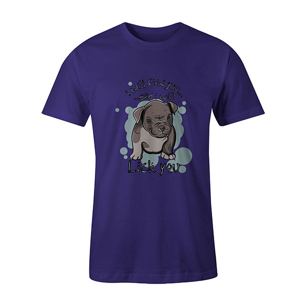 I Will Find You And I Will Lick You T shirt purple