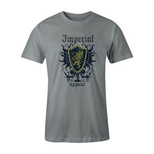 Imperial Apparel T shirt silver