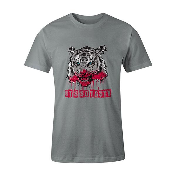 Its So Tasty T shirt silver