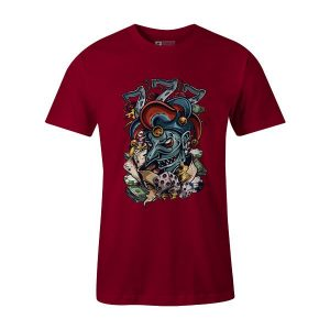 Joker The Gambler T Shirt Cardinal