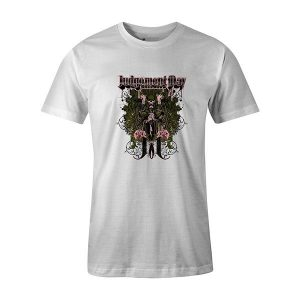 Judgement Day T shirt white