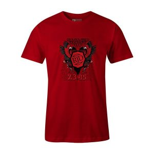 Judgment Day T shirt red