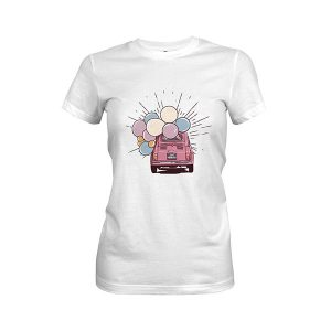 Just Married T shirt white