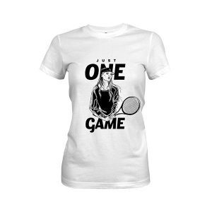 Just One Game T shirt white