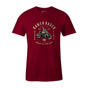 Kamen Racer T shirt cardinal