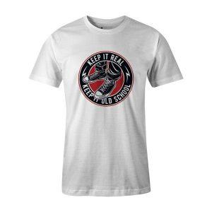Keep It Old School T Shirt White