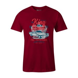 King Of The Road T Shirt Cardinal