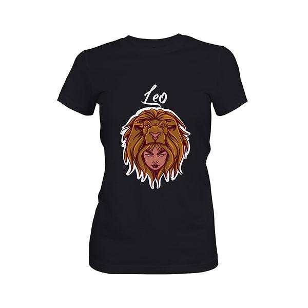 Leo T shirt black