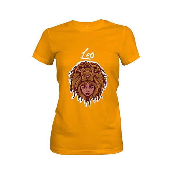 Leo T shirt gold